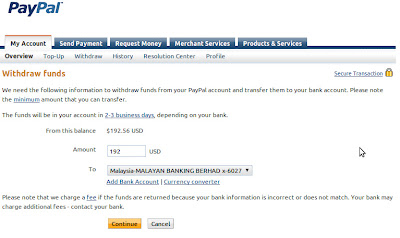 How To Transfer Money from PayPal to Maybank account - Show