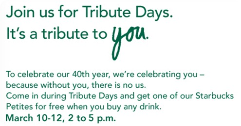 tribute days