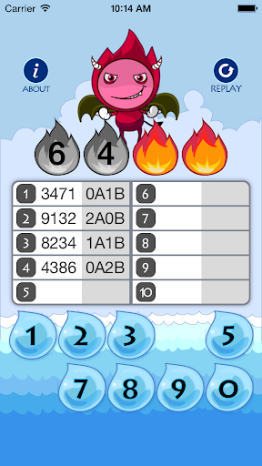 玩免費益智APP|下載4 digits 猜數字 app不用錢|硬是要APP
