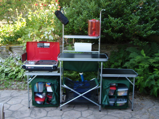 Cabela\'s Camp Kitchen (and how to make the sink more functional)