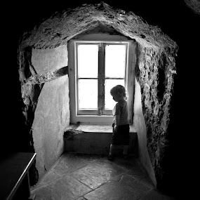Boy at Window by Joe Butler - People Street & Candids (  )