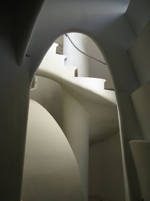 Interior of Casa Batllo in Barcelona, Spain