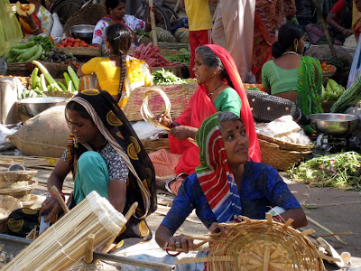 Vegetable market in Rajasthan