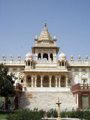 Jaswant Thada memorial in Jodhpur