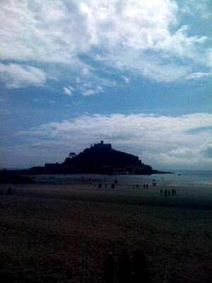 St Michaels Mount in Cornwall, England