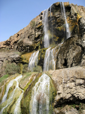 Waterfalls in Ma'in Jordan
