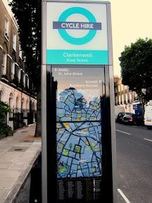 London Cycle Hire Clerkenwell