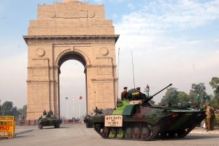 Indian Army Armoured Carrier Vehicle [BMP-2]