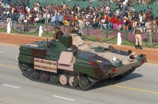 Indian Army Armoured Carrier Vehicle [BMP-2-based Armoured Engineering Recce Vehicle]