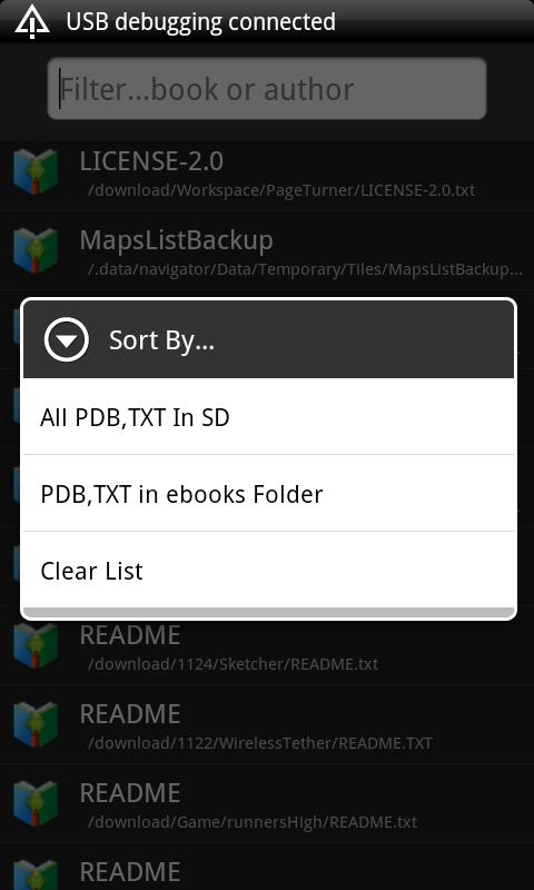 PDB Book Reader - screenshot