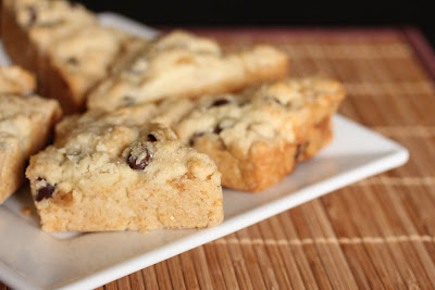 close-up photo of Ginger chocolate chip scones