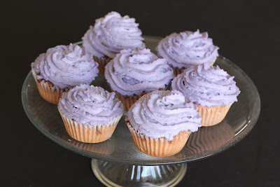 Ube (Purple Yam) Cupcakes (and a little rant about ube vs. taro)