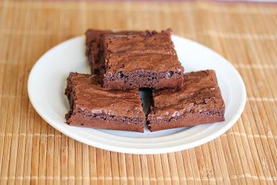 Ghirardelli Triple Chocolate Edge brownies