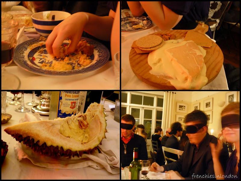 Underground restaurant Ms Marmite : l'expérience gustative avec ses 5 sens à Londres 1
