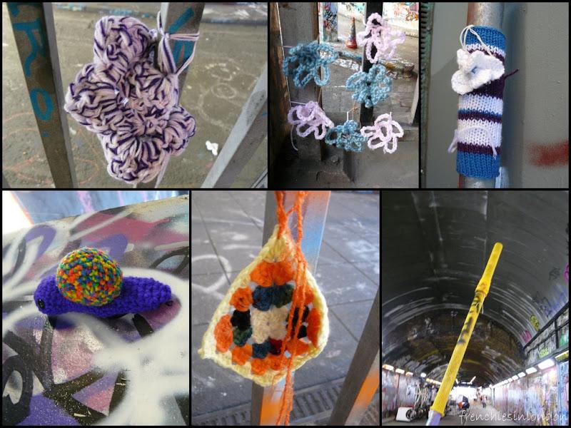09 9 Du yarnbombing à Leake street à Londres