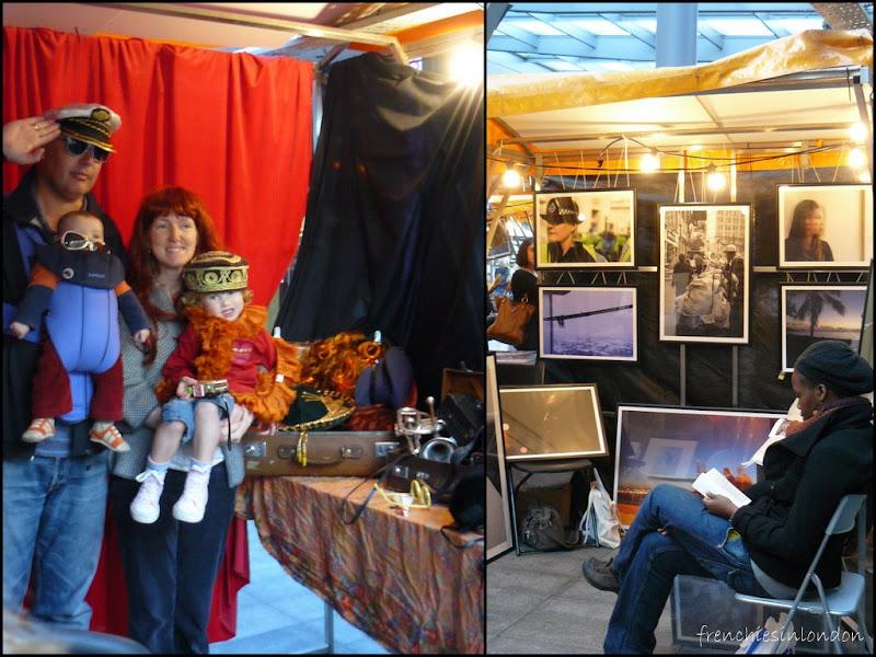 Exposition et événements éphémères à Londres en 2009- 2010 24