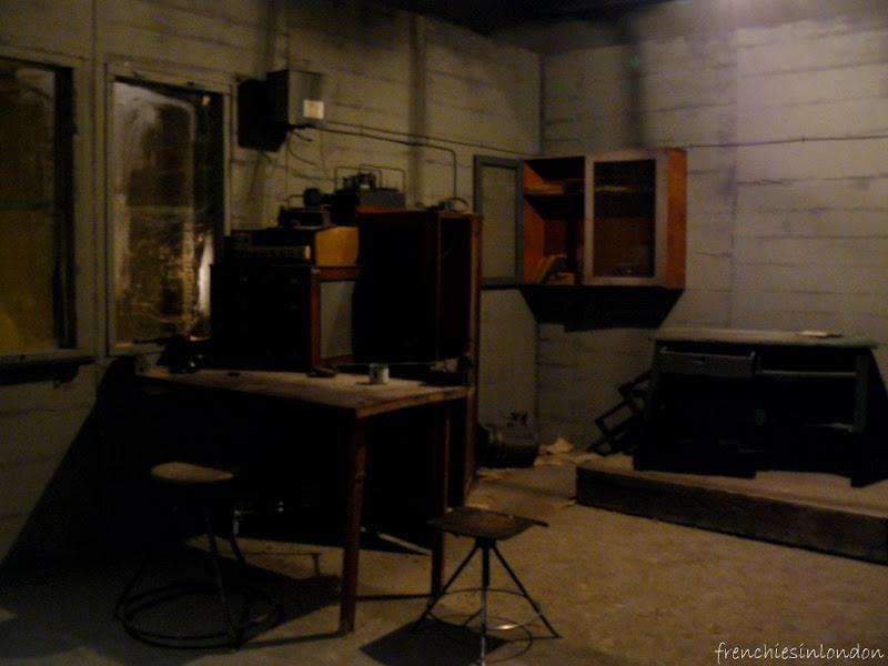 Londres insolite : Un bunker au barbican 1