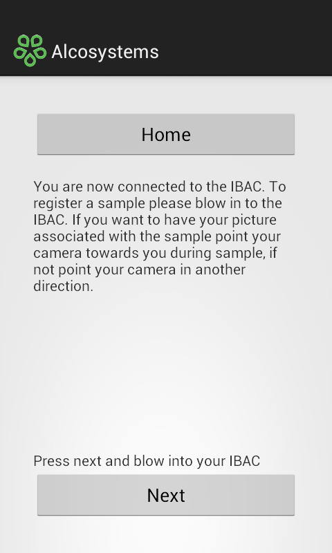 IBAC alcosystems consumer- screenshot