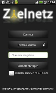 Zielnetz Flatrate Networkscan- screenshot thumbnail