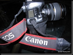 Canon EOS 40 D with 17-85 is lens