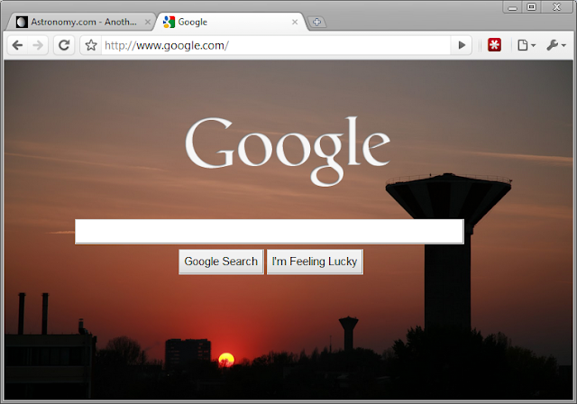how to make a google homepage background