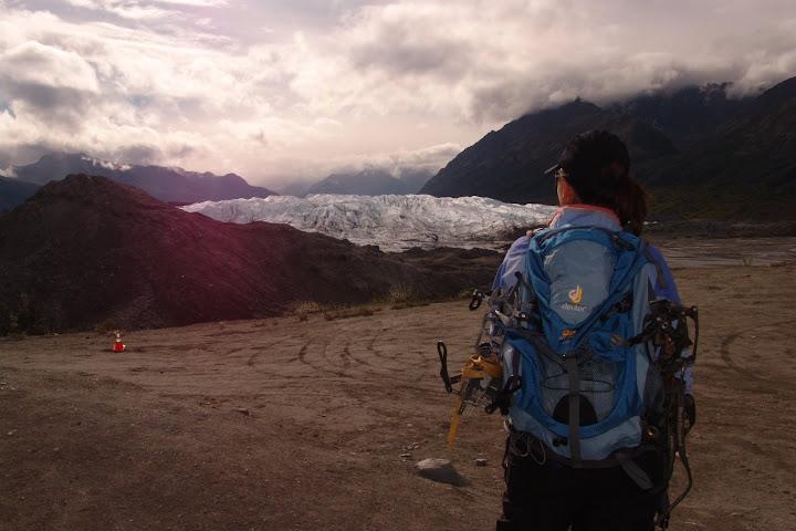 Lau no Matanuska Glaciar