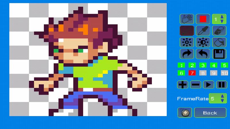 Pixel Animator:GIF Maker Screenshot 3