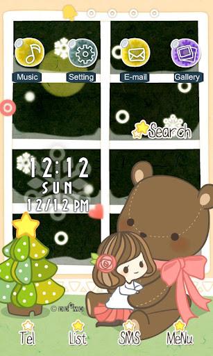 CUKI Theme Lovely Girl N Bear