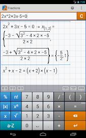 Fraction Calculator MathlabPRO Screenshot 19