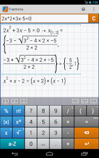 Fraction Calculator MathlabPRO Screenshot 19