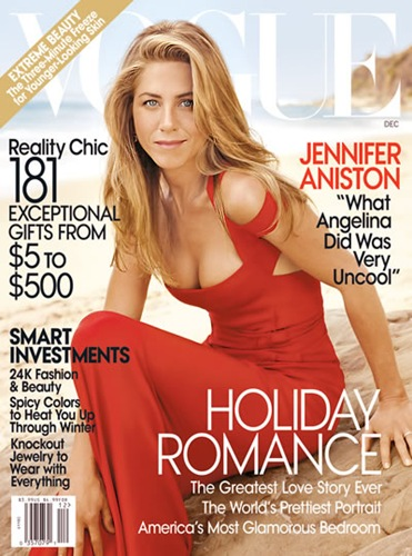 Jennifer Aniston Vogue December 2008 Cover Picture