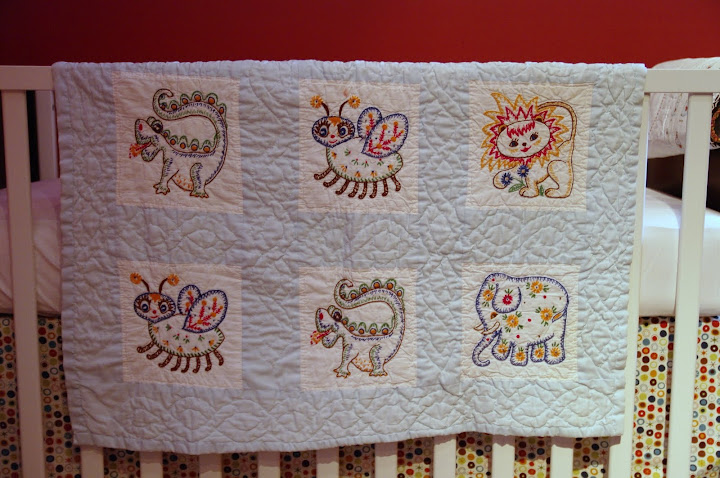Mgbp 5 Vintage Baby Quilt Happy Stuff