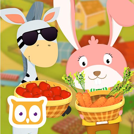 教育のYipy Garden Farm LOGO-記事Game