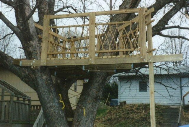 Como construir una casa en el rbol urbanarbolismo - Casas de madera en arboles ...