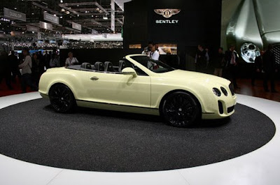 Bentley has presented a high-speed cabriolet