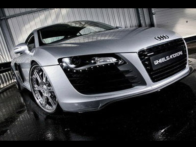 Tuners Wheelsandmore have developed a package for Audi R8