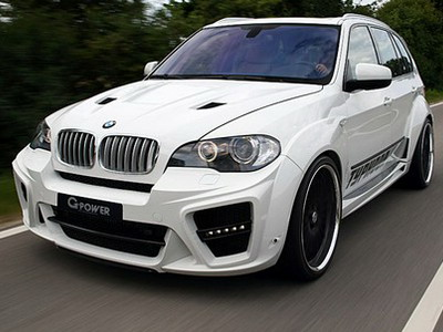 Tuners G-Power have presented crossover Typhoon RS on the basis of BMW X5 M