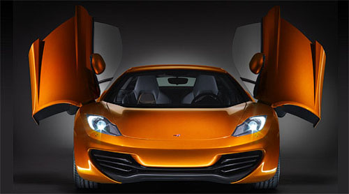 Official premiere McLaren MP4-12C
