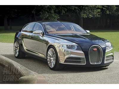 Bugatti prepares new exclusive sedan Galibier 16C