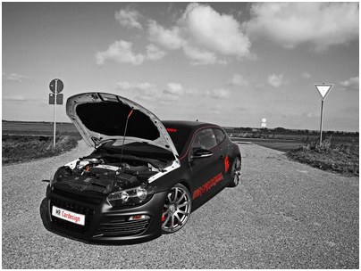 VW Scirocco has received 370HP