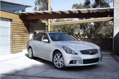 Predisplay updated Infiniti G37