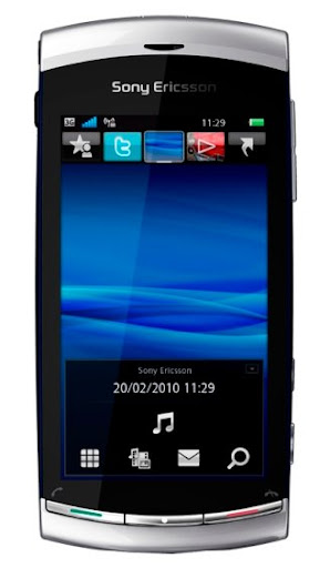 Sony Ericsson Vivaz: for the Spanish as Live phone