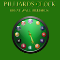 Billiards Clock