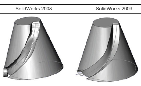 Surface Quality Enhancement In Solidworks 2009