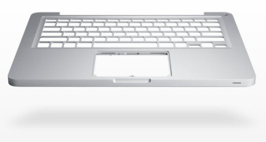 Aluminium Unibody of Apple Macbook