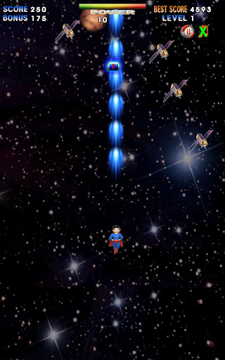 a space trip - android