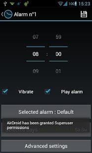 Holo Alarm, Timer, Chrono - screenshot thumbnail