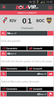 Screenshot of BolaVip Futbol Argentino