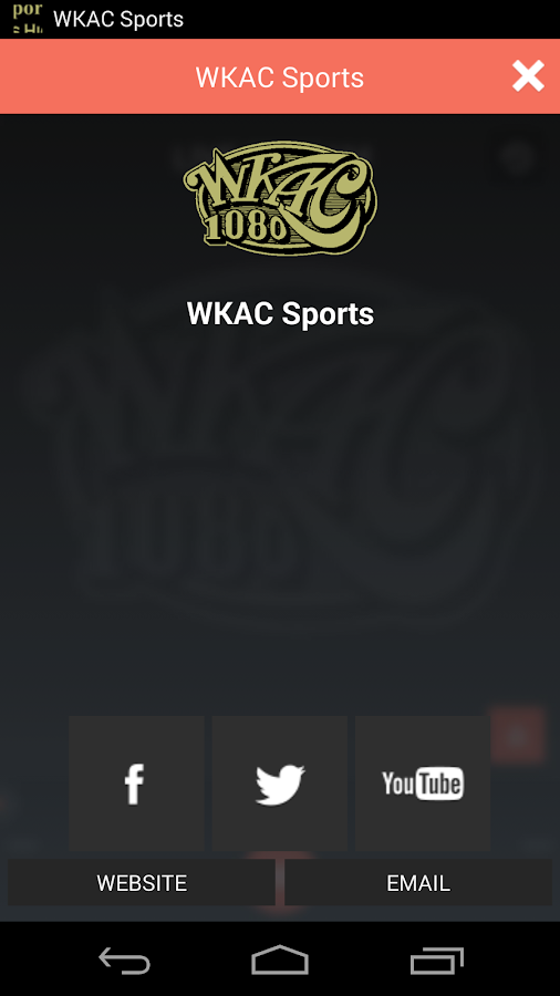 WKAC Sports - screenshot