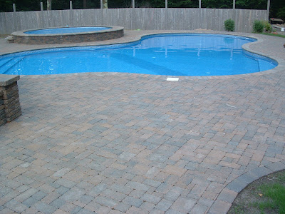 paver patio pool deck New Hampshire